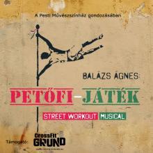 A Petőfi-játék előadás plakátja